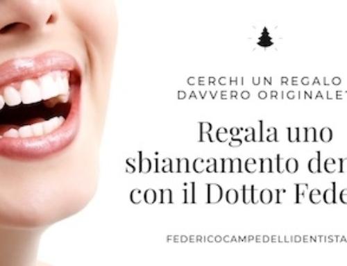 Regala uno sbiancamento dentale con il Dottor Federico Campedelli