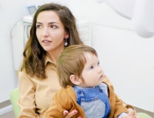 Bambini prima visita dal  dentista