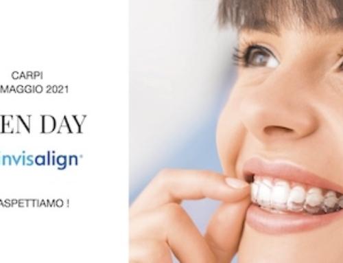 Open Day Invisalign 22 Maggio 2021 a Carpi